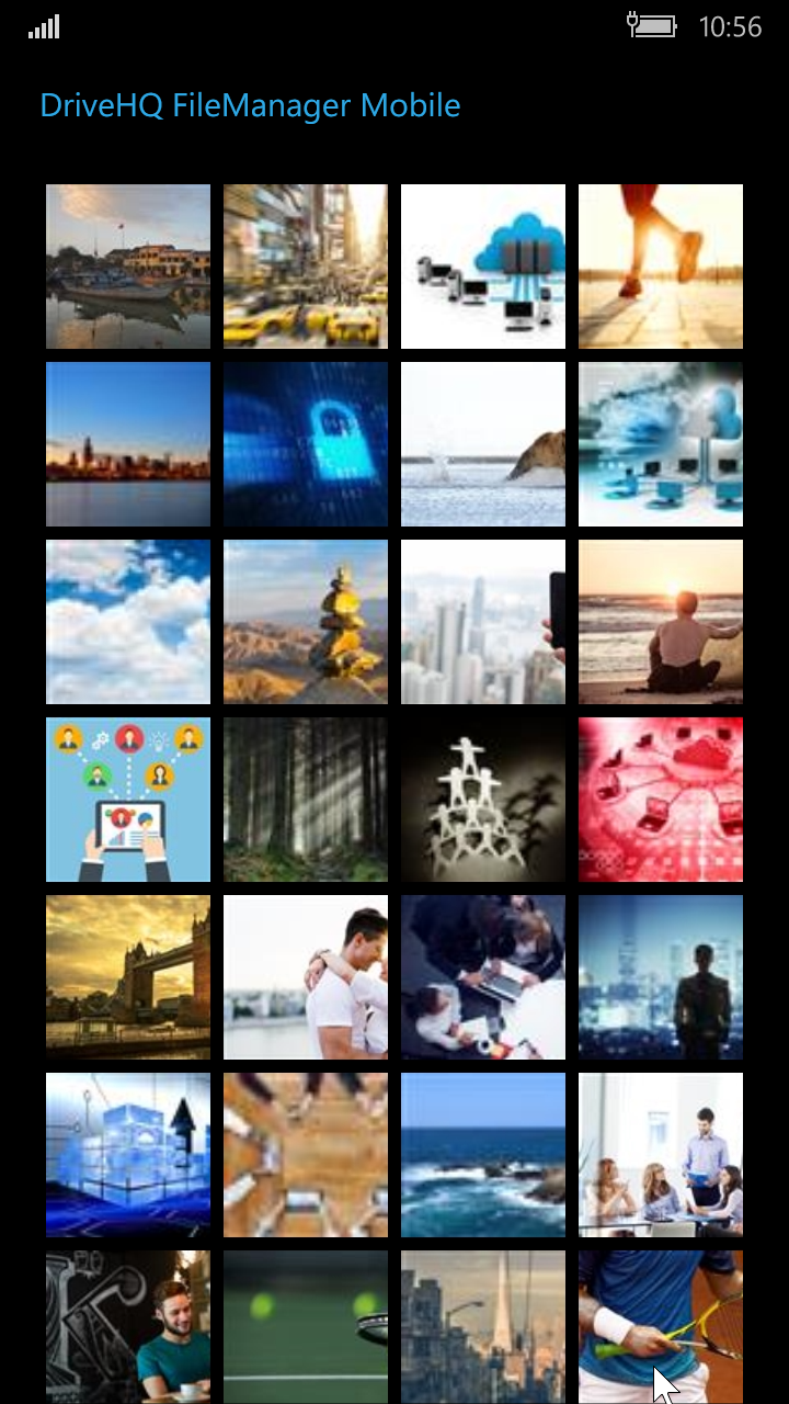 Drivehq Filemanager App For Windows Mobile Phone