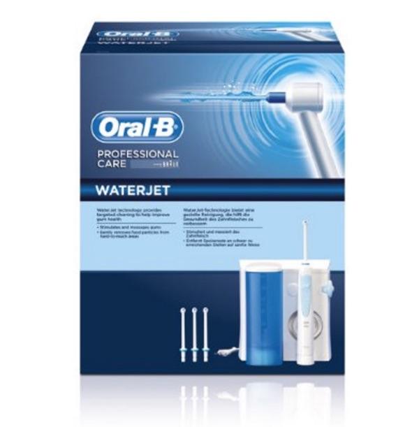 braun oral b waterjet oral irrigator flosser md16 new water jet waterpik ebay. Black Bedroom Furniture Sets. Home Design Ideas