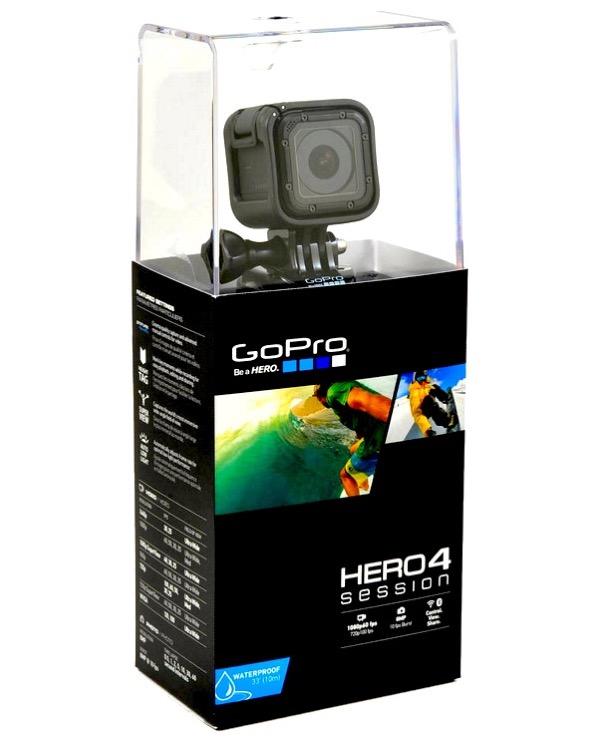 gopro hero 4 session action camera gps wifi video photo. Black Bedroom Furniture Sets. Home Design Ideas