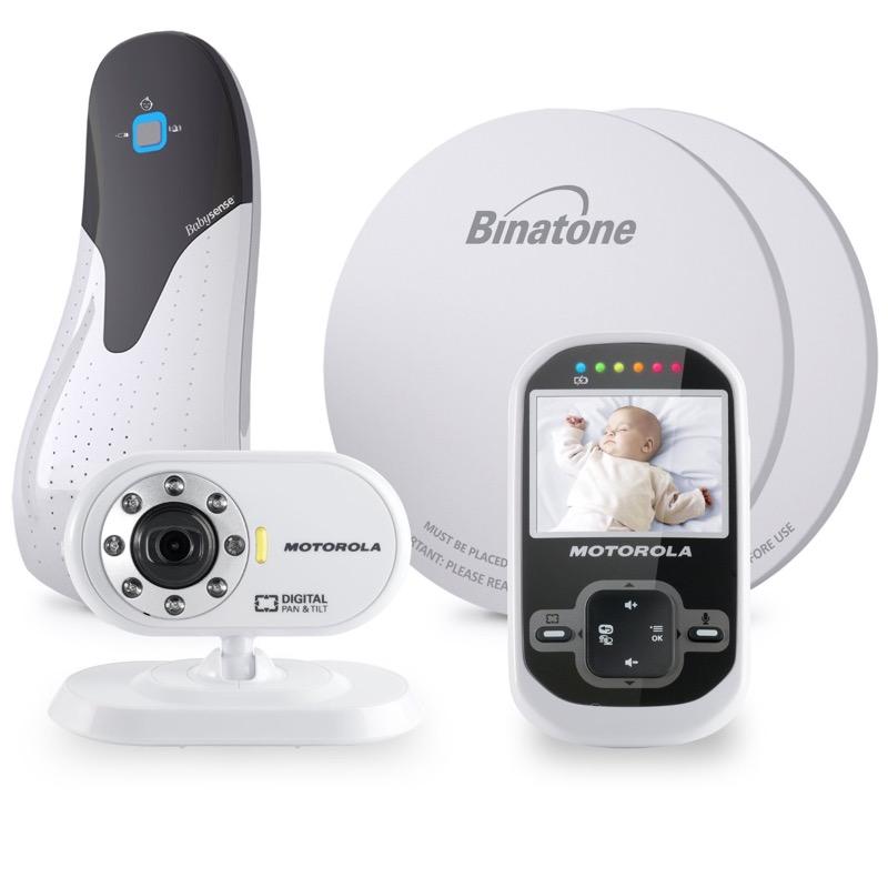 motorola mbp26 wireless digital video monitor babysense 5 baby breathing bundle ebay. Black Bedroom Furniture Sets. Home Design Ideas