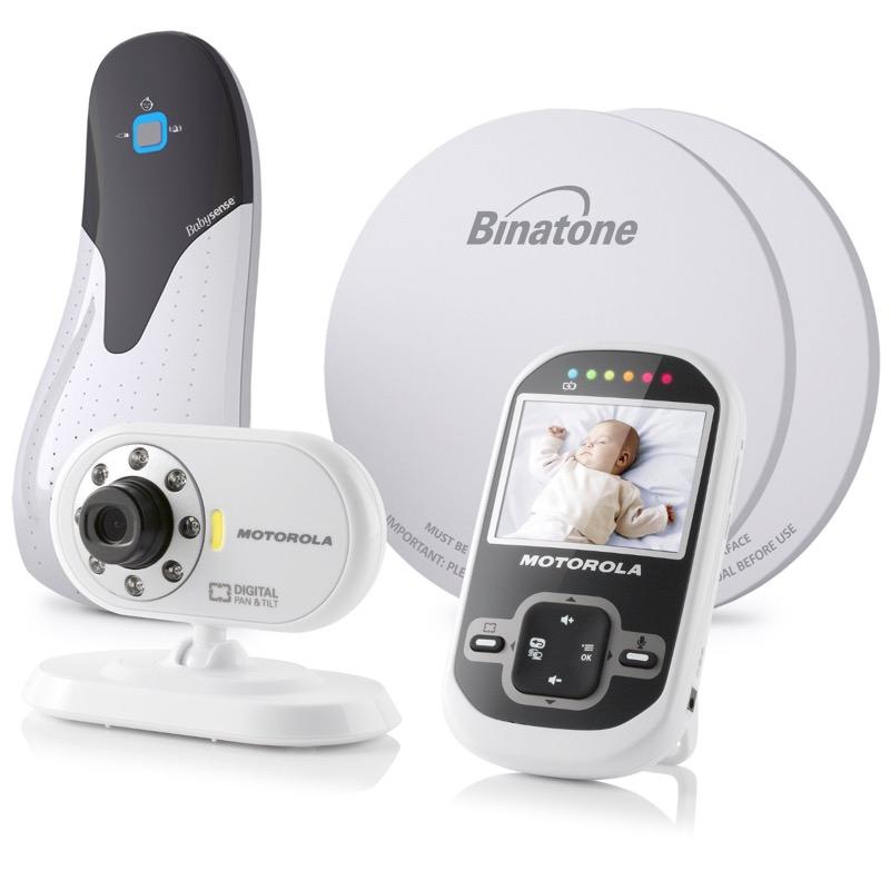 motorola mbp26 wireless digital video monitor babysense 5 baby breathing bun. Black Bedroom Furniture Sets. Home Design Ideas