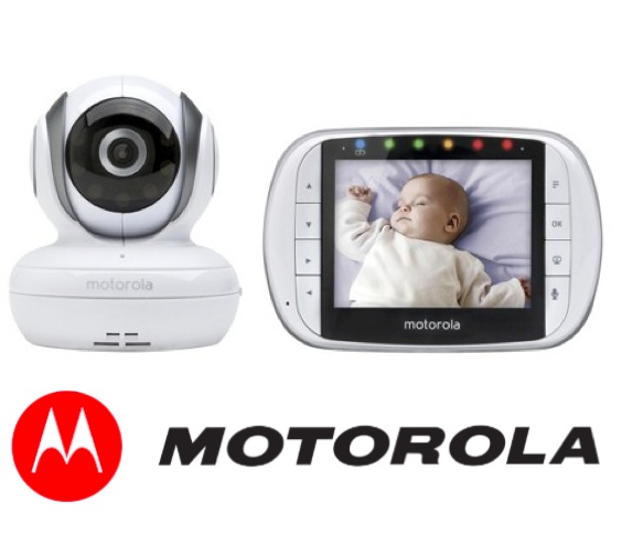 new motorola mbp36s digital video baby monitor portable camera w night vision ebay. Black Bedroom Furniture Sets. Home Design Ideas