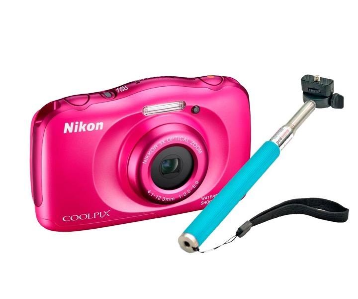 Nikon coolpix s waterproof digital camera mp selfie
