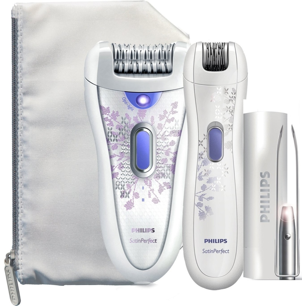 PHILIPS HP6578 Satin Perfect RECHARGEABLE Ladies Epilator ...