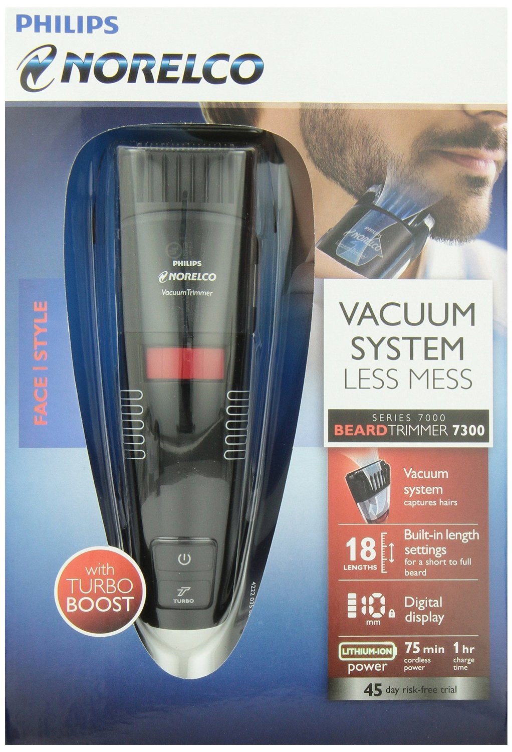philips qt4070 vacuum pro turbo cordless mens beard. Black Bedroom Furniture Sets. Home Design Ideas