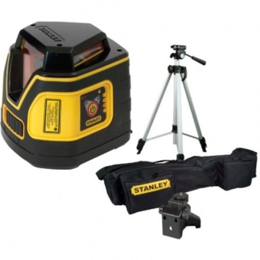 Stanley fatmax sll360 360 self leveling laser level plumb for Niveau laser stanley 360