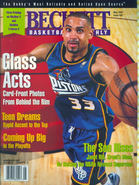 grant hill pistons. 1997 Beckett Basketball Monthly: Grant Hill - Pistons | eBay