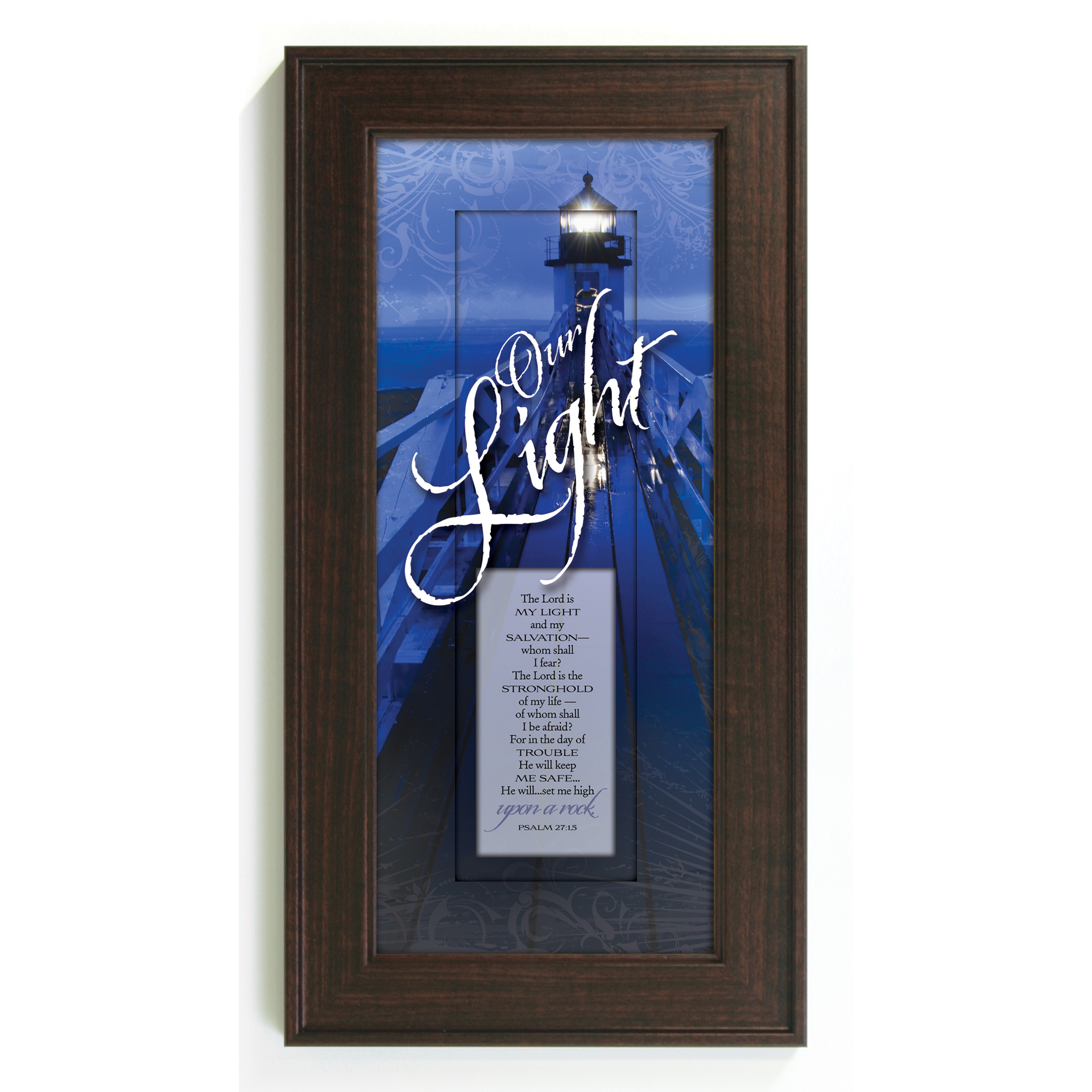 James Lawrence Our Light--The Lord Is Framed Wall Art at Sears.com