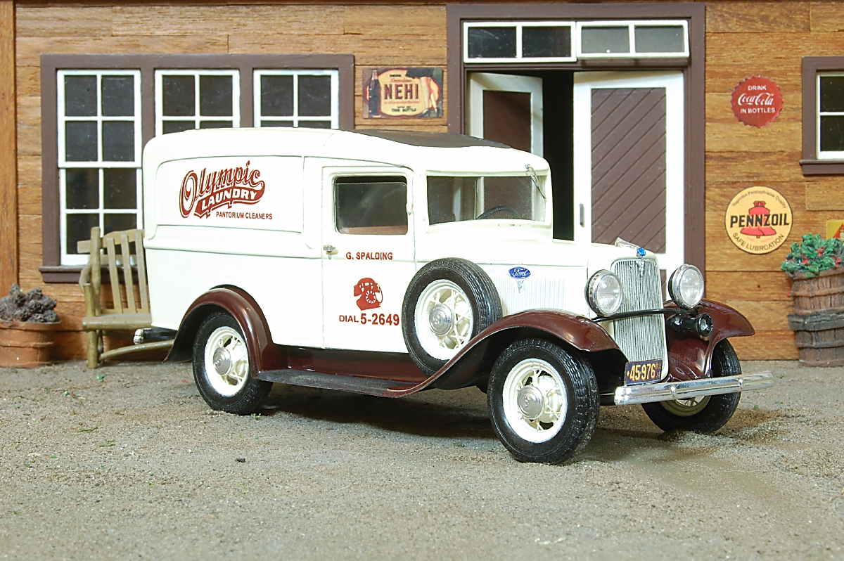 1934 ford panel delivery truck