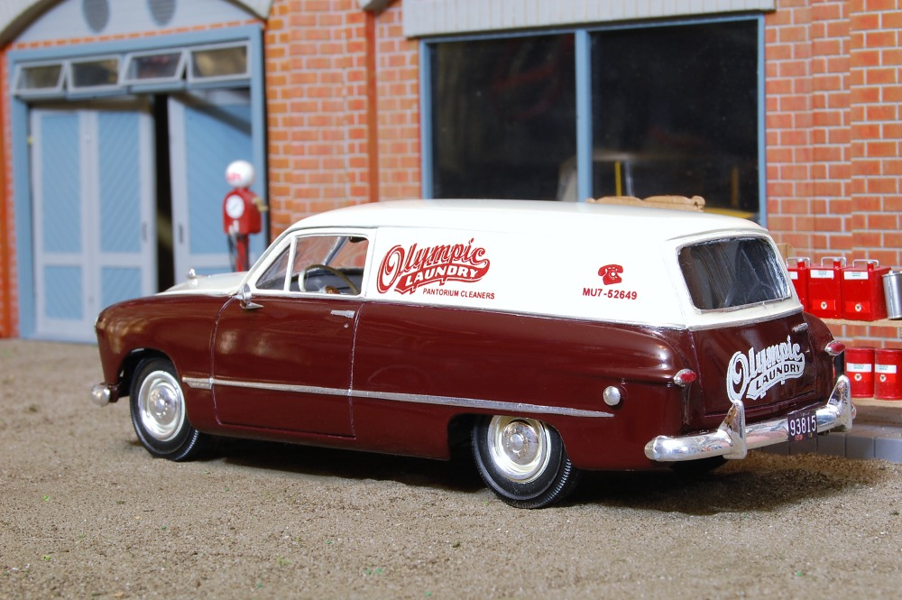 1949 Ford Sedan Delivery 'Olympic Laundry'