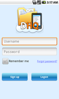 DriveHQ File Manager For Android screenshots - Business-class Online File