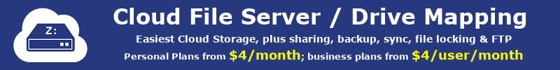 Leading Enterprise Cloud IT Service; cloud file server, FTP Hosting, Online Storage, Backup and Sharing