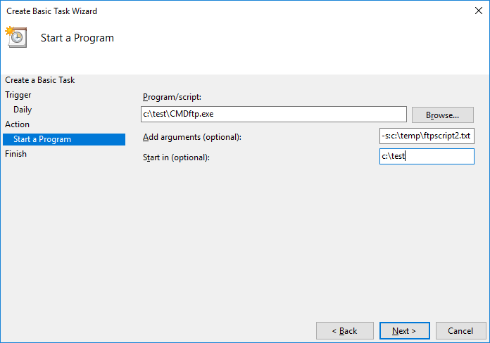 SFTP/FTP Scripting with DriveHQ Command FTP client  Supports