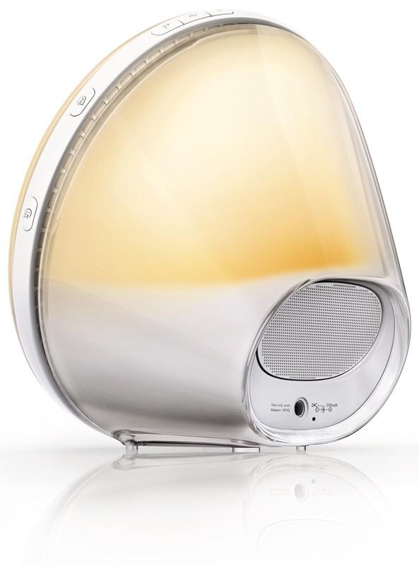 WTY PHILIPS Wake-Up Light Alarm Clock HF3520//01 Coloured Sunrise Simulation NEW