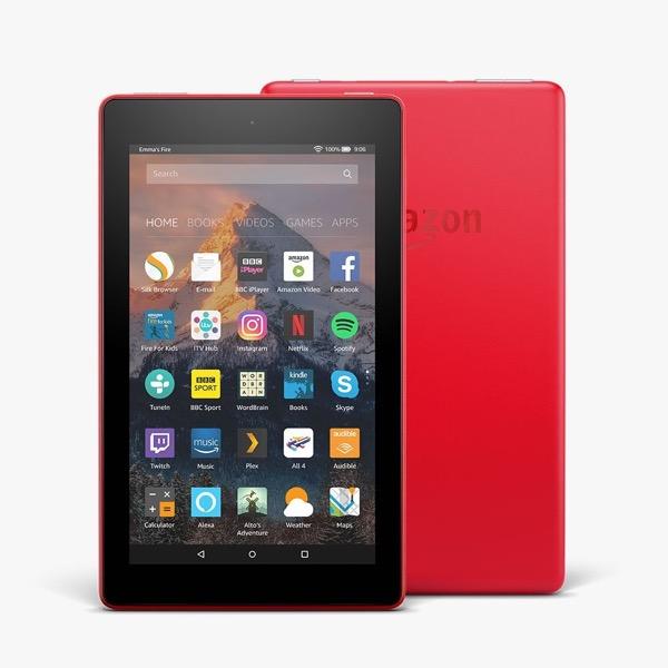 Dettagli su Amazon Kindle Fire 7 con Alexa TABLET WIFI 8GB Rosso 7th  generazione * NUOVO + GARANZIA *- mostra il titolo originale