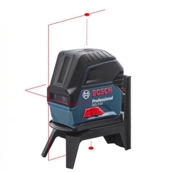 new bosch gcl 2 15 self leveling cross line laser level plumb rm1 mount pouch ebay. Black Bedroom Furniture Sets. Home Design Ideas