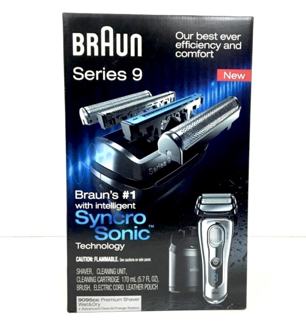 Braun Series 9 9095cc Shaver Wet Amp Dry With Clean Amp Charge