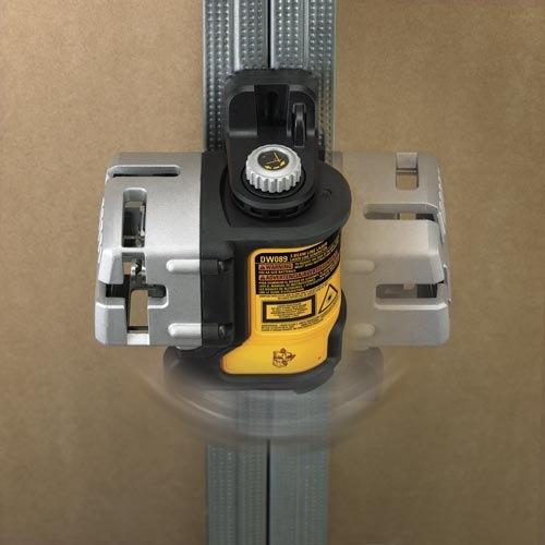 DEWALT DW089K Self Leveling 3-way traverse Multi ligne Niveau Laser Kit Nouveau