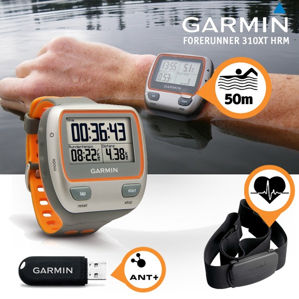 GARMIN FORERUNNER 310XT HRM GPS Sports/Running Watch + Heart Rate Monitor NEW 753759086428 | eBay