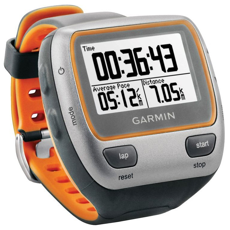 Gray//Orange Garmin Forerunner 310XT Waterproof USB Stick and Heart Rate Monitor