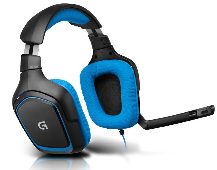 LOGITECH G430 Surround Sound USB Gaming Headset (for PC