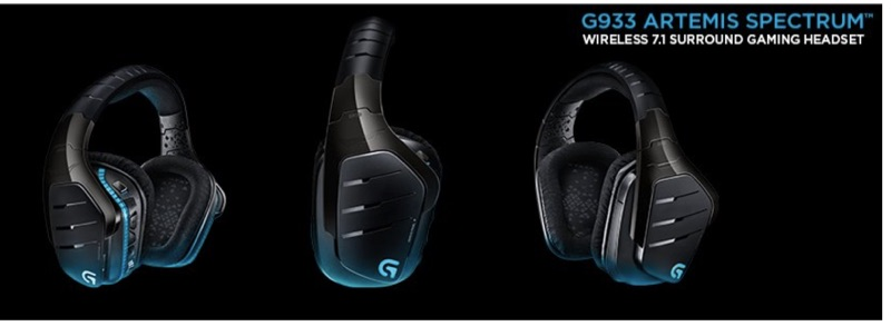 Details about LOGITECH G933 ARETEMIS SPECTRUM 2 4GHZ Wireless 7 1 PRO  Gaming Headset NEW +WTY