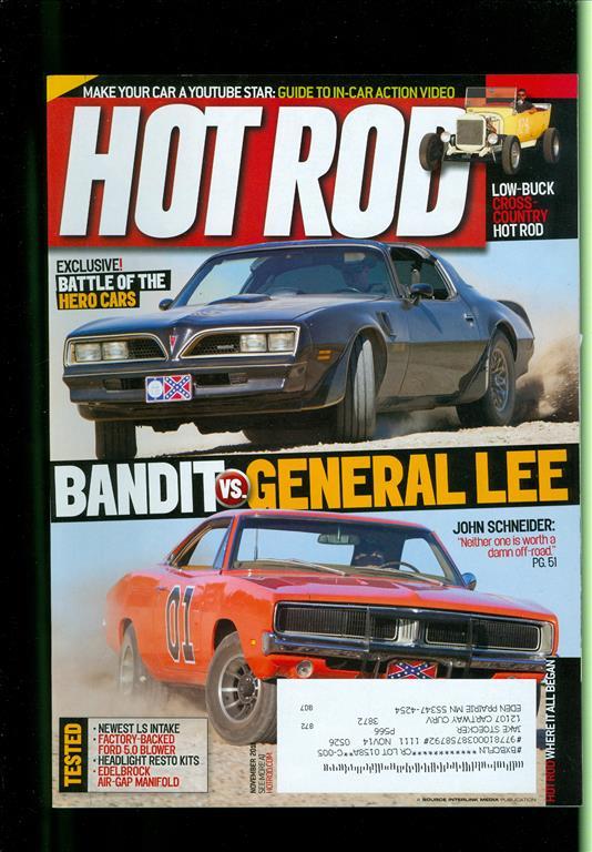 2011 Hot Rod Magazine Pontiac Bandit vs General Lee Cross Country Hot Rod