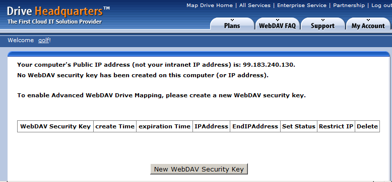 WebDAV Cloud Drive Mapping/Cloud File Server Service Manual