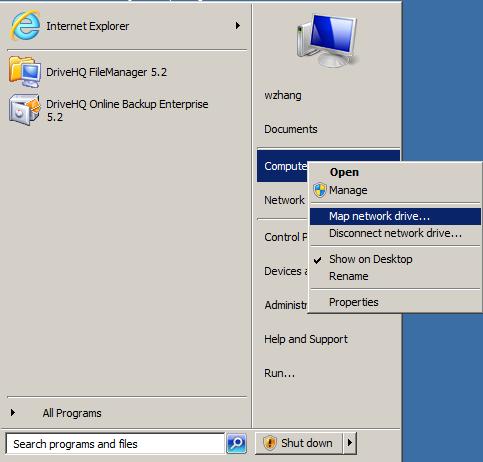 WebDAV Cloud Drive Mapping/Cloud File Server Service Manual