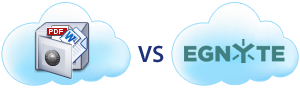 Complete comparison of DriveHQ Cloud IT Service with Egnyte Hybrid cloud