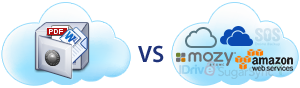 Complete comparison of DriveHQ Cloud IT Service with other cloud services